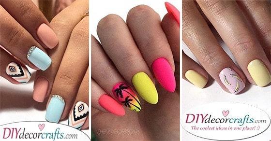 40 SUMMER NAIL DESIGNS - Fabulous Acrylic Nail Designs For Summer