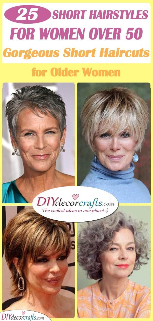 Short Hairstyles for Women Over 50 - 25 Short Haircuts for ...