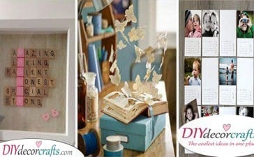 40 GIFT IDEAS FOR MOM - Homemade Gifts for Mom