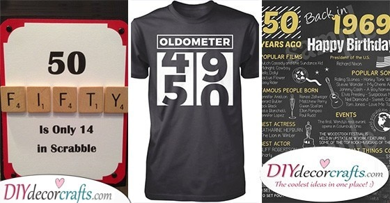 20 GIFT IDEAS FOR 50TH BIRTHDAY - 50th Birthday Present Ideas