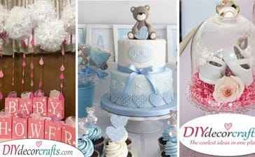 25 DIY BABY SHOWER DECORATIONS - Fantastic Baby Shower Decoration Ideas