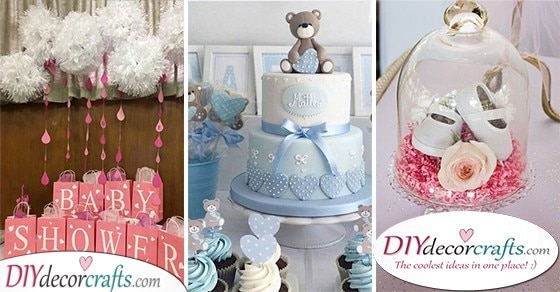 25 DIY BABY SHOWER DECORATIONS - Fantastic Baby Shower Decoration Ideas