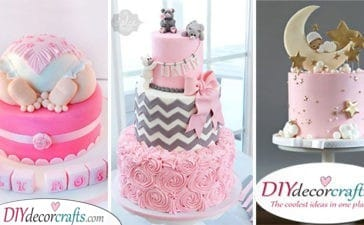 25 BABY SHOWER CAKE IDEAS FOR GIRLS - Cakes for Baby Girls