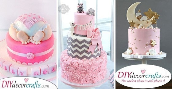 Baby Shower Cake Ideas For Girls 25 Beautiful Cakes For Baby Girls