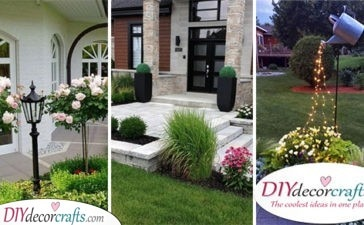 25 FRONT YARD LANDSCAPING IDEAS ON A BUDGET - Inspiration for Landscaping