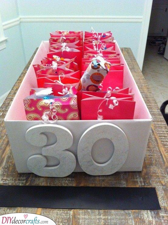 A Whole Gift Box - Filled With Gift Bags
