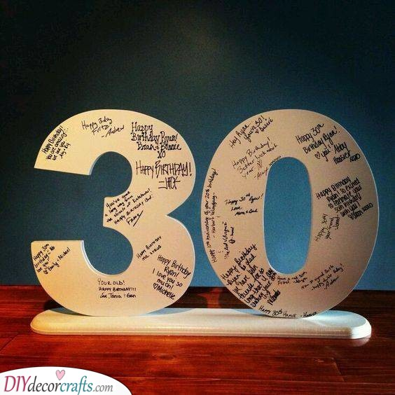 A Huge Thirty - Things to Do for 30th Birthday