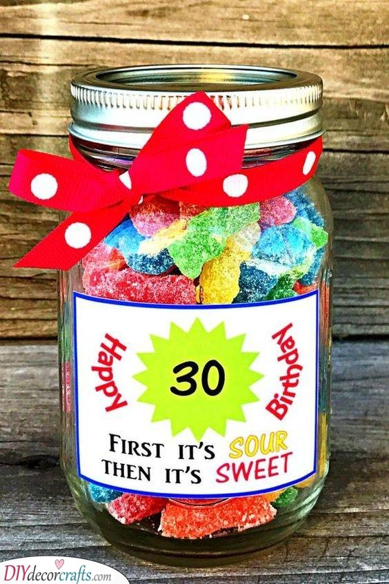 A Jar of Goodness - Getting Creative With Candy