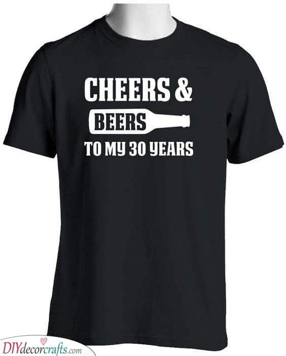 Cheers and Beers - Fabulous Gift Ideas for 30th Birthdays