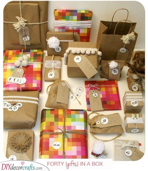 An Array of Gifts - Forty to Be Precise