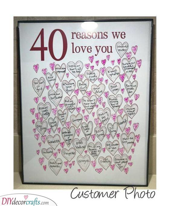 Forty Reasons - Why Everyone Loves Them