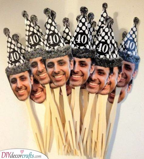 Forty and Fun - Great Cupcake Toppers