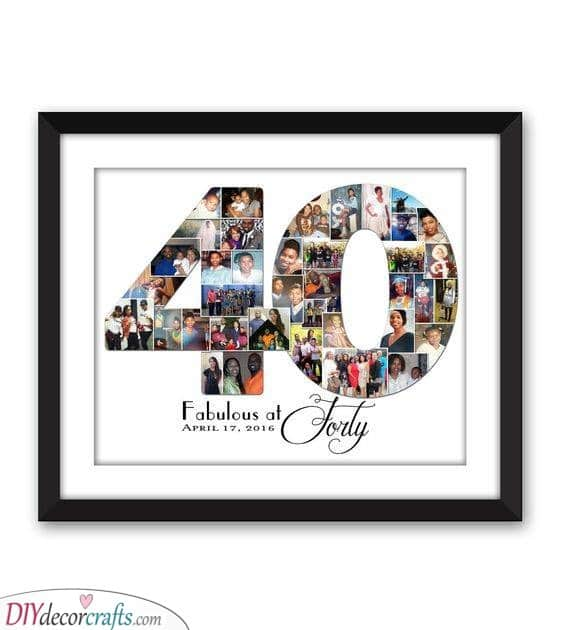 Fabulous at Forty - Beautiful 40th Birthday Present Ideas