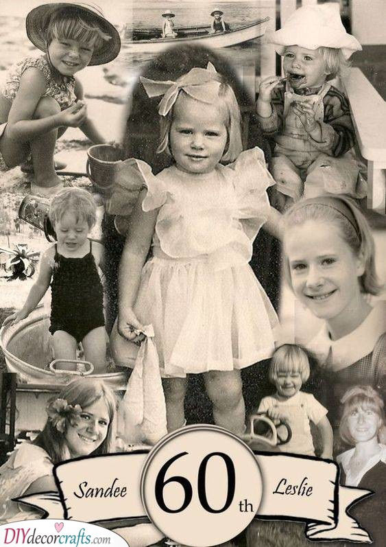 A Collection of Old Photos - 60th Birthday Gift Ideas
