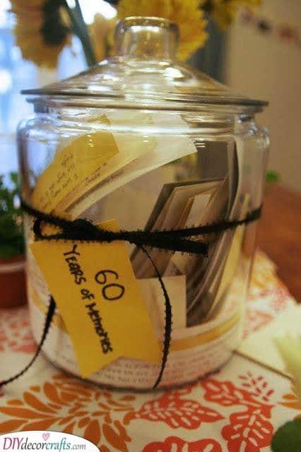 A Jar of Memories - Sixty Years of Memories