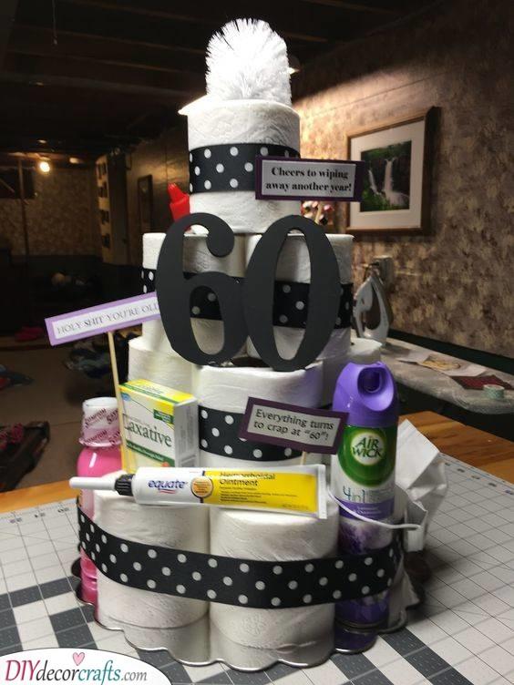 A Funny Alternative - To a Birthday Cake