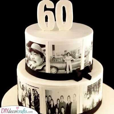 A Beautiful Cake - Filled With Memories