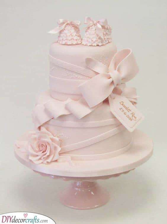Elegant in Pink - Beautiful Cakes for Your Shower