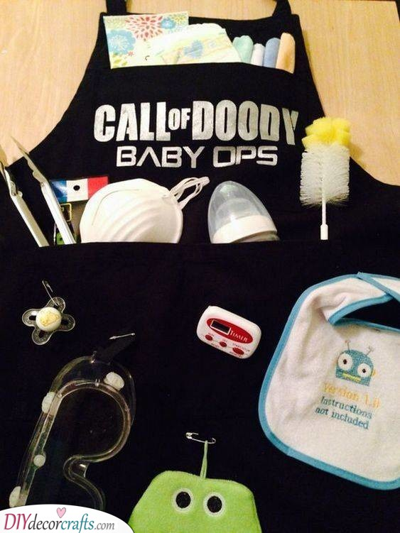 Call of Doody - Personalised Baby Shower Gifts