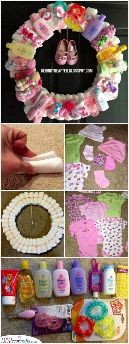 An Adorable Wreath - Creative Baby Wreath
