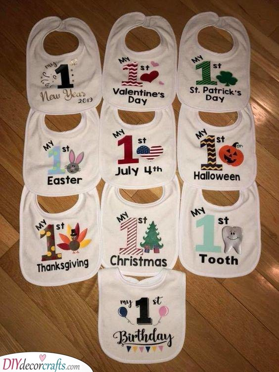 A Bib for Each Occasion - Personalised Baby Shower Gifts