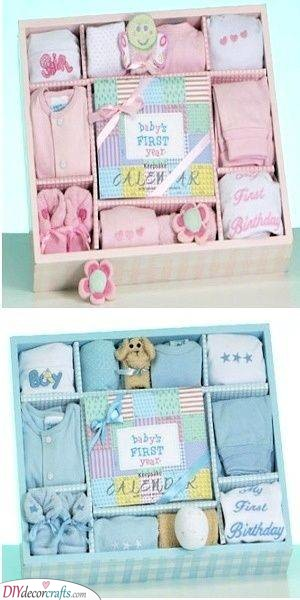 First Year Gift Box - For the Baby