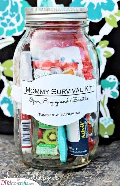 Mom's Survival Kit - Help Her Get Through the Days