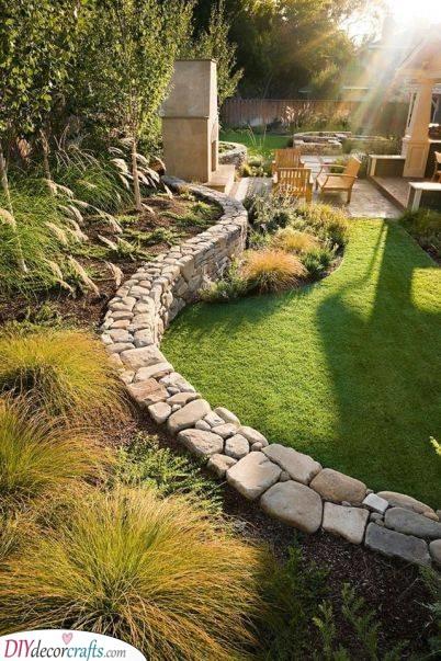 A Rustic Garden - Backyard Design Ideas