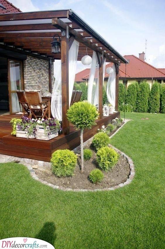 A Dreamy Veranda - Backyard Ideas on a Budget