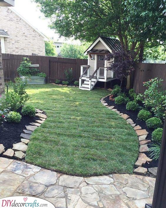 A Cute Cubbyhouse - Backyard Landscaping Ideas