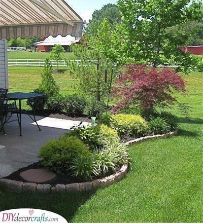 Surround Your Terrace - Backyard Design Ideas