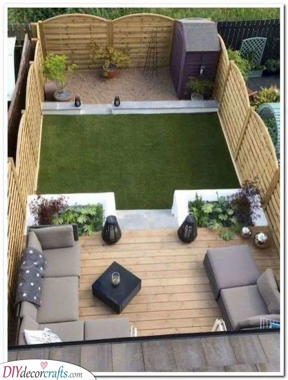 A Tiny Space - Small Backyard Landscaping Ideas