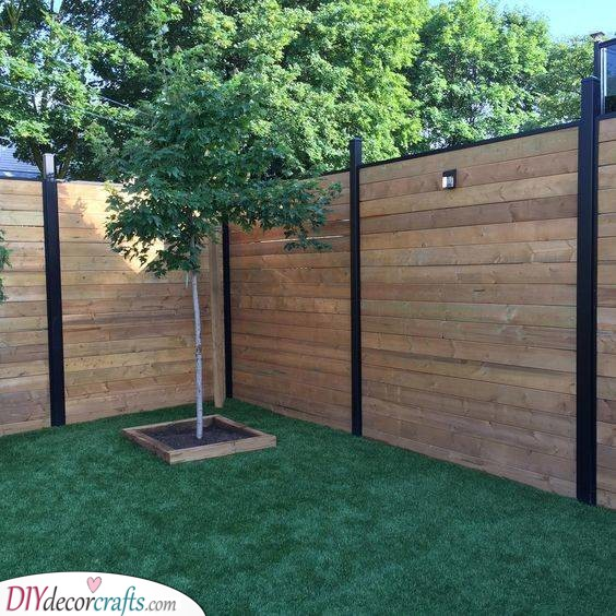 Simple Landscaping - Great Idea for Privacy