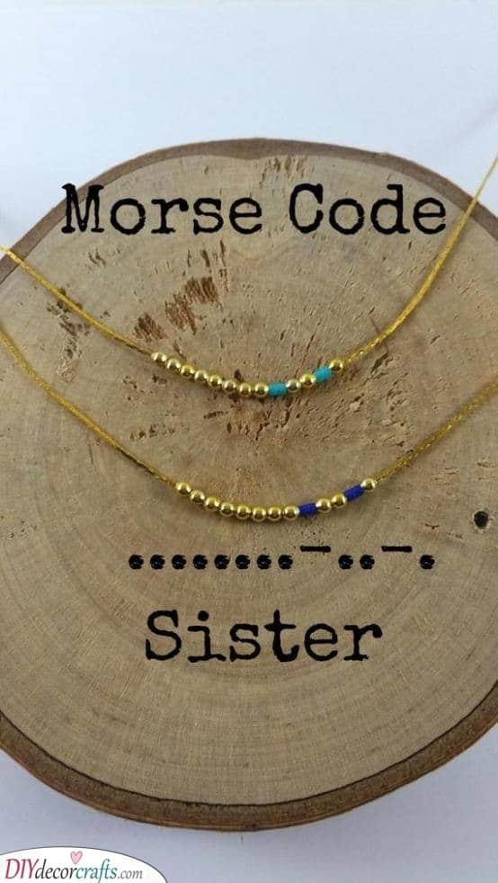 A Bit of Morse Code - A Secret Message
