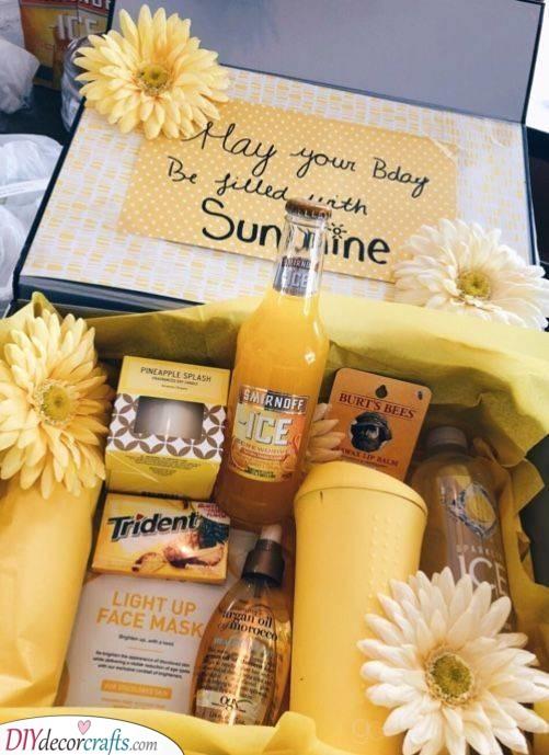 A Sunny Birthday - A Splash of Yellow