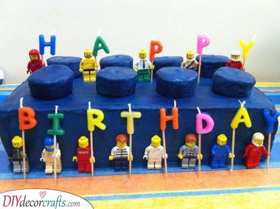 A Lego Cake - A Fantastic Birthday Cake