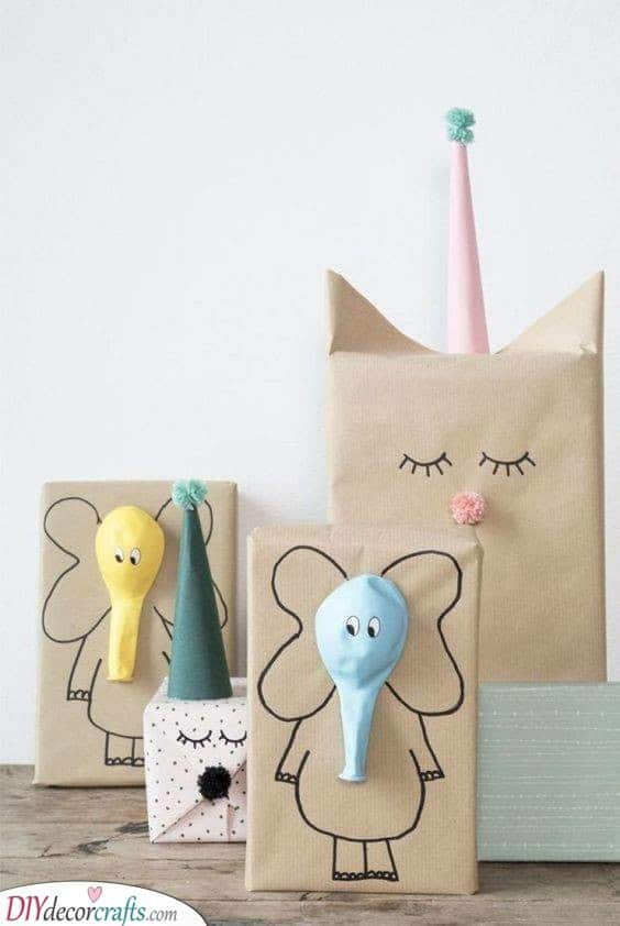 Wrapping it Up - Personalised Children's Gifts