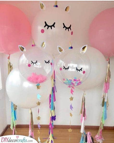 Unicorn Balloons - For a Magical Party