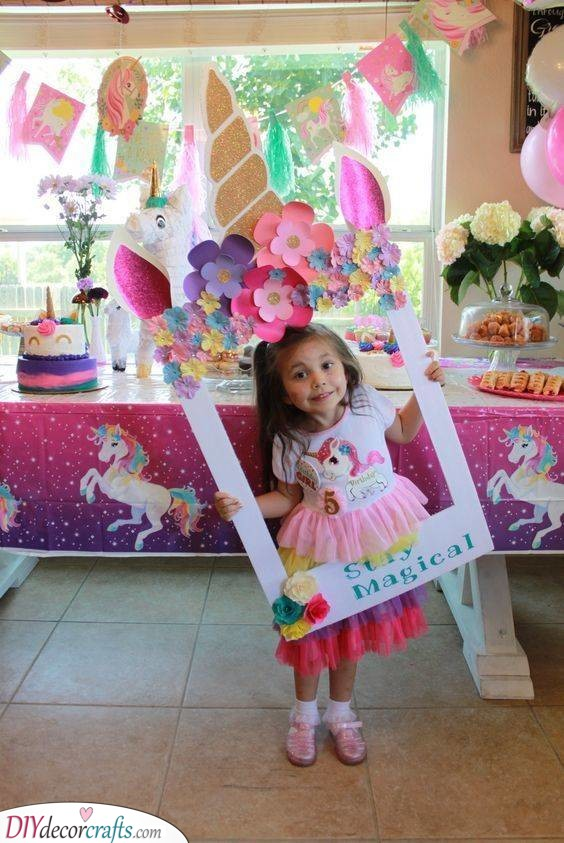 Photo Frame - Gifts for 7 Year Old Girls