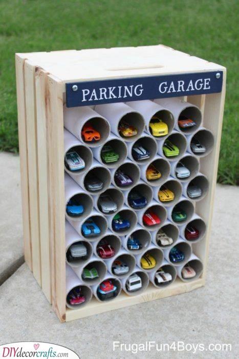 Parking Garage - Homemade Birthday Gifts for Kids