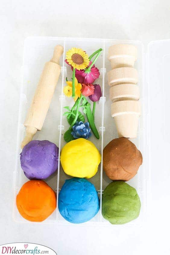 A Play Dough Kit - Creative and Unique