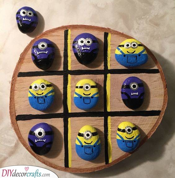 Tic Tac Toe - With Cute Minions