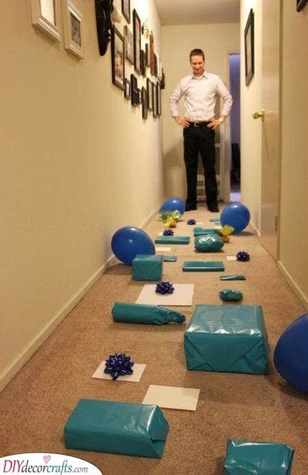 A Trail of Gifts - Surprise Your Husband