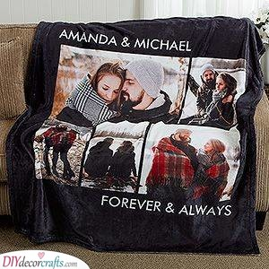 A Huge Blanket - Birthday Gift Ideas for Husband