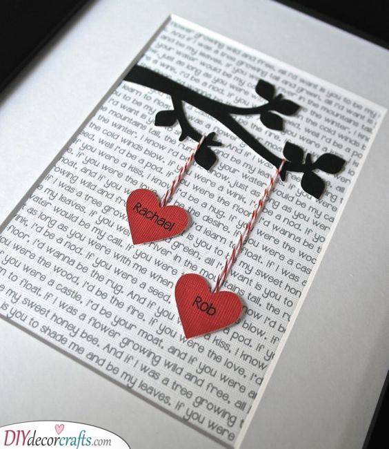 A Tree of Love - Beautiful Birthday Gift for Husband