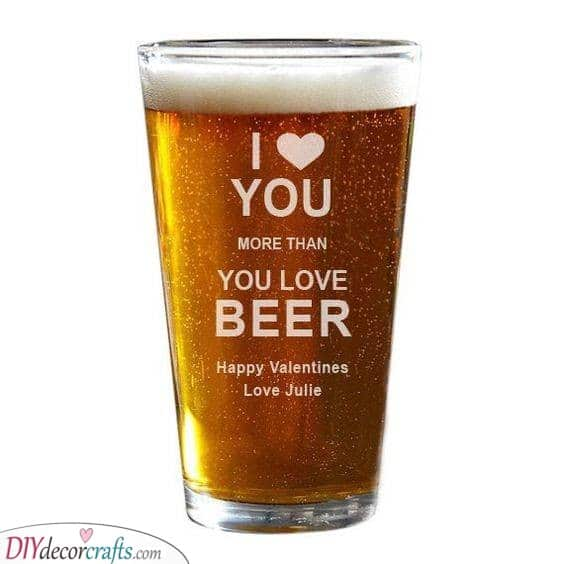 A Love for Beer - Birthday Gift Ideas for Husband