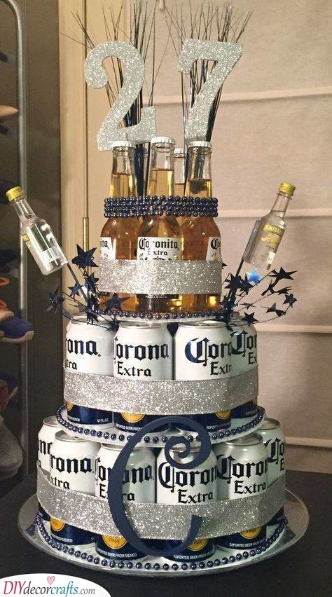 A Beer Cake - The Best Sort of Birthday Cake