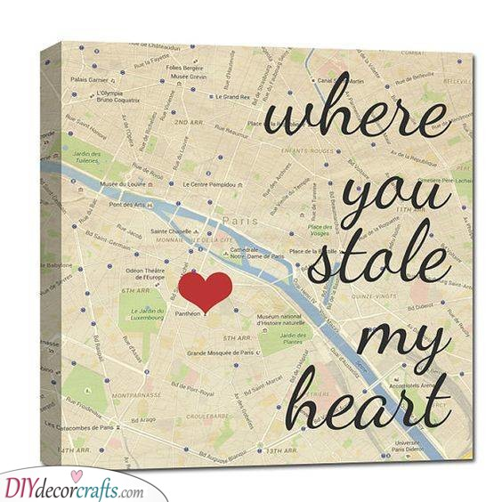 A Special Location - Where He Stole Your Heart