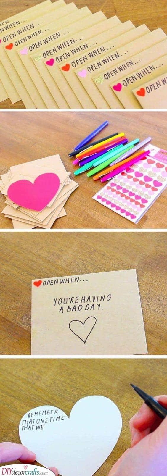 Open When - An Abundance of Letters