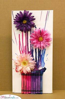 Abstract Flowers - Gift Ideas for Your Best Friend